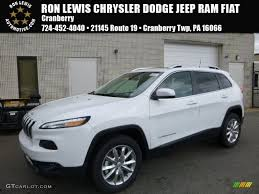 jeep white cherokee 2017 2017 bright white jeep cherokee limited 4x4 119503216 gtcarlot