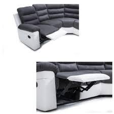 matière canapé joie canapé d angle de relaxation 4 places 291x256x101 angle droit