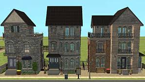 mod the sims market street apartments