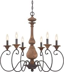 Traditional Chandeliers Quoizel Abn5006rk Auburn Traditional Rustic Black Chandelier Light