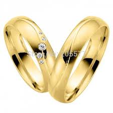 Couple Wedding Rings by Vogue Jewelry Gold Wedding Rings For Couple Promotion Shop For