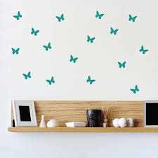 online get cheap plastic stencil for furniture aliexpress com 24pcs stencil butterflies wall art stickers butterfly vinyl decals home door furniture fridge decor