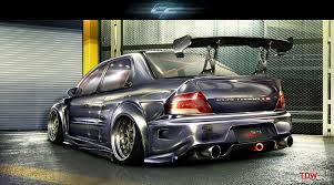 blueberry evo ix rear shot by emrefast on deviantart cars all