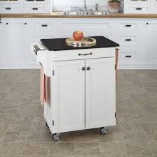 Homestyles Kitchen Island by White Kitchen Island With Granite Top Voluptuo Us