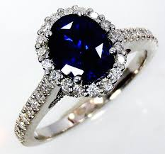 sapphire rings images Blue ceylon sapphire ring 1 35 ct oval cut natural untreated jpg