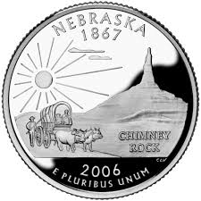 First State Quarters Of The United States Collectors Map by Nebraska State Quarter U S Mint