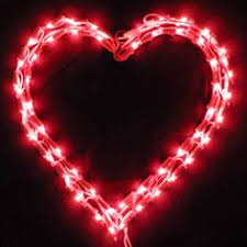 valentines lights pink opaque bulbs change out the bulbs form your christmas lights