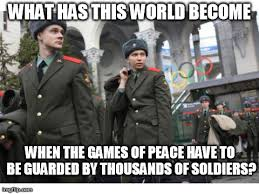 Sochi Meme - games of peace imgflip