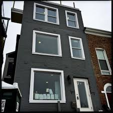 Row Home Design News by Grayed Expectations What U0027s With All The Gray Houses