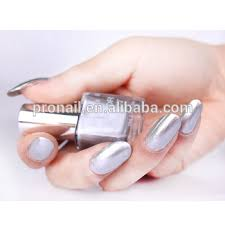 sell mirror nail polish 10ml in glass bottle and chromed nail