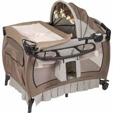 Playpen Bassinet Changing Table Portable Playard Playpen Bassinet Newborn Infant Pack N Play