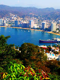 view of acapulco city and bay from the las brisas hotel acapulco