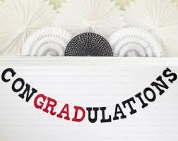 congratulations graduation banner glitter graduation banner 5 inch letters congradulations
