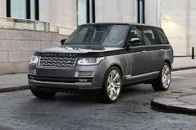 custom 2016 land rover jlr announces new range topping rover the svautobiography