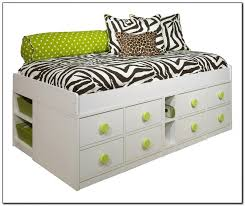 Twin Bed Frame With Drawers And Headboard by Bed Frames Twin Bed With Bookcase Headboard And Trundle Twin