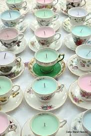 tea cup candles 11 cool candle projects for beginners teacup floral and