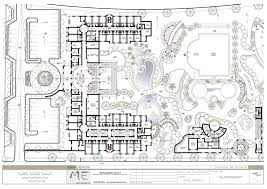 hotels floor plans the hotel at the guc german university in cairo me architects