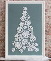 tree of snowflakes
