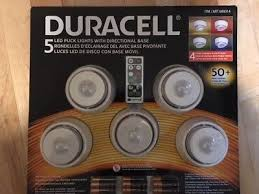 duracell led puck lights capstone 6 led puck lights wireless w remote control timer dimmer