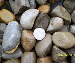 How Many Tons Per Cubic Yard Of Gravel 4 River Wash Gravel Jones Topsoil Columbus Ohio