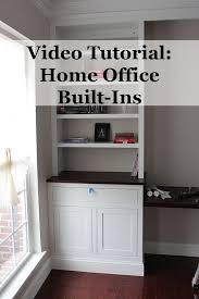 Using Kitchen Cabinets For Home Office Best 25 Built In Cabinets Ideas On Pinterest Built In Shelves