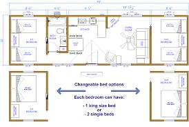 Floor Plans In Spanish 12x40 Floor Plans Parkmodel Floorplan 745x459 229 Png Camp