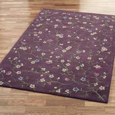 Lilac Runner Rug Floral Rugs Touch Of Class