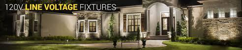 120v Landscape Lighting Fixtures by 120v Line Voltage Outdoor Lighting Landscape Lighting Volt