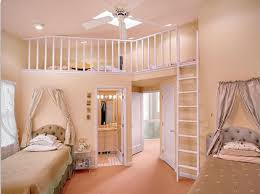 paint u0026 colors pretty two storey girls bedroom idea enjoyable