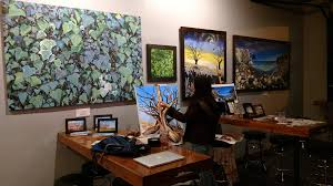 live painting with jessica siemens featured artist of the month