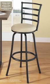 Wood And Metal Bar Stool Roundhill Furniture