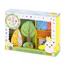 easter egg decorating kits rabbit and egg decorating kit
