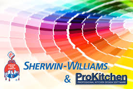 sherwin williams u0026 prokitchen software prokitchen software