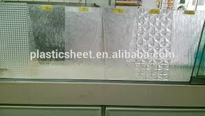 Plexiglass Shower Doors Shower Plastic Door With Embossed Pattern Sheet For Bathroom