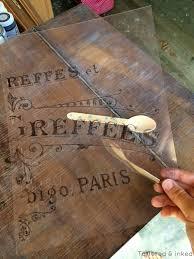 tattered and inked vintage inspired table makeover u0026 hallway