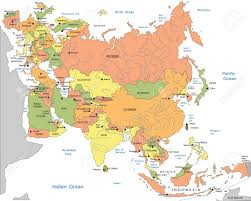Blank Eurasia Map by Map Asia Raster Stock Photos Royalty Free Map Asia Raster Images