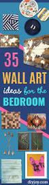 35 wall art ideas for the bedroom diy joy