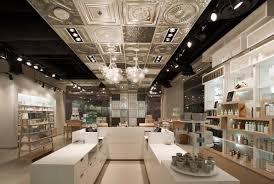 home interiors shop store design skins 6 2 cosmetics shop by uxus design shop