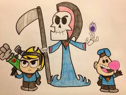 grim adventures of billy and mandy halloween background mandy underfist images reverse search