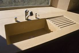 Concrete Kitchen Sink by Integrated Stone Sink Befon For