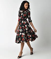 swing dance dresses 1940s 1950s styles