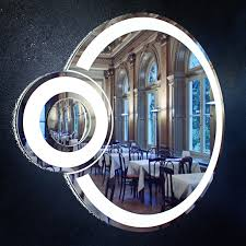 Circle Bathroom Mirror Round Bathroom Mirror With Light Eclipse Free Vr Ar Low Poly