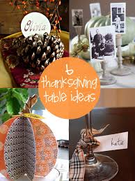 6 thanksgiving table decorations creative gift ideas news at