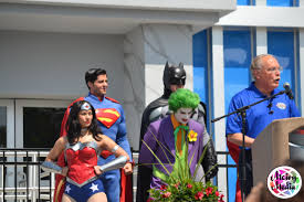 Six Flags Over Ga Address Justice League Battle For Metropolis 4d Opens At Six Flags Over