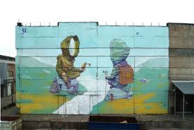 fresque carrelage mural fresque murale on decoration d interieur moderne murale idees 800x550