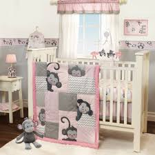 Gray And Pink Crib Bedding Pink Crib Bedding Set Lostcoastshuttle Bedding Set