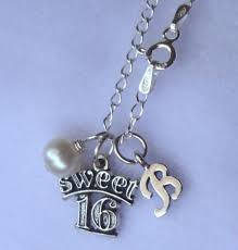 monogrammed necklaces sweet 16 birthstone initial necklaces initial monogrammed