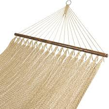 bcp double two point tight weave caribbean hammock outdoor garden