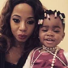 kelly khumalo s recent hairstyle kelly khumalo s thingo is growing up news24