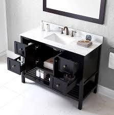 Virtu Bathroom Vanity by Virtu Usa Es 30048 Wmsq Es Winterfell 48 Inch Single Bathroom